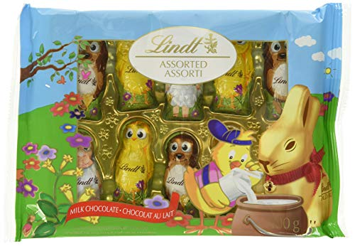 Lindt Lindor Easter Chocolate Fun Friends, Milk Chocolate, 100g, 100 Grams