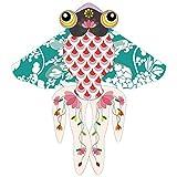 Mejores Delta Kite estilo chino adultos Goldfish cometa Easy Fly for niños y principiantes Línea recta cintas cola colores impresionantes diseñado meticulosamente amigo grande regalo cometa