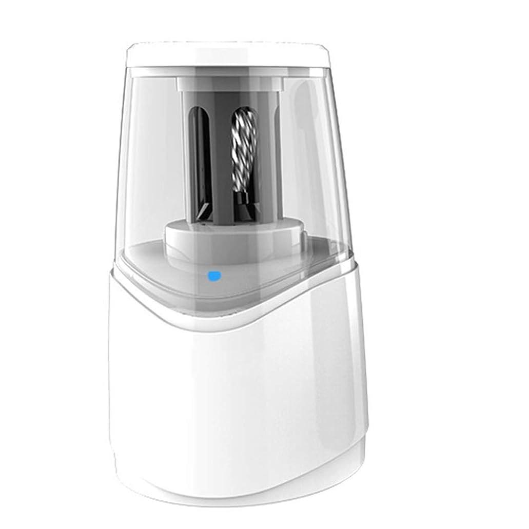 規則性歌手テメリティNJC 電気鉛筆削り、USB 5-10秒と自動停止作業、子供のため、学校や教師用品シャープ、高速多機能充電 (Color : White)