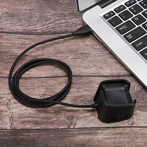 Tomanbery Fácil de Transportar Alta eficiencia de Trabajo Velocidad de Carga rápida Cargador de Reloj Compacto Antiinterferencias para Reloj