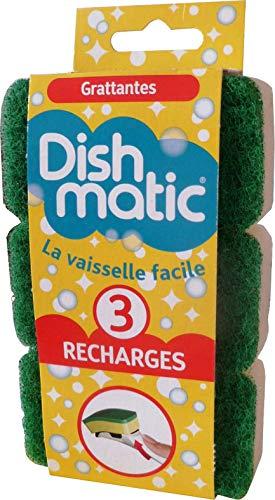 Dishmatic 3 navulspons, groen