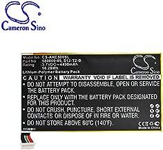 Replacement Battery for KC5 K Fire HD 2013 K Fire HD 3rd K HDX 7.0 P48WVB4 Part NO 26S1001-A1(1ICP4/82/138) 26S1005 26S1005-S 58-000055 58-000055(1ICP4/82/138) S12-T2-D