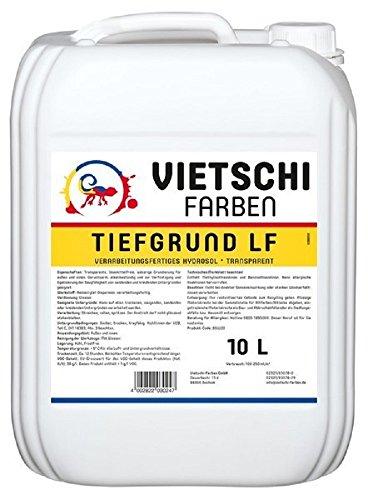 Vietschi Tiefgrund LF 10 Liter - lösemittelfreier Hydrosol Tiefgrund - Grundierung