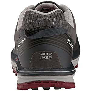 ALTRA Men's TIMP iq Trail Runner, Charcoal/Red, 13 M US