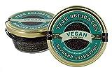Tzar Caviale - VEGAN gourmet perle di alghe - vetro 105 grammi nero