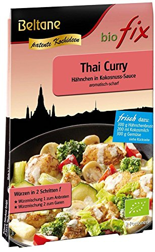 Beltane Bio biofix - Thai Curry (10 x 21,50 gr)