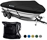 Leader Accessories 600D Waterproof Trailerable Runabout Boat Cover Fit...