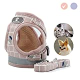 Gaosaili Dog and Cat Harness,Adjustable Reflective Soft Dog Harnesses Vest No Choke
