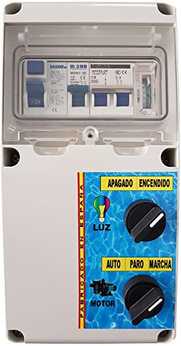 Warmpool Cuadro eléctrico para Piscina con Transformador AC