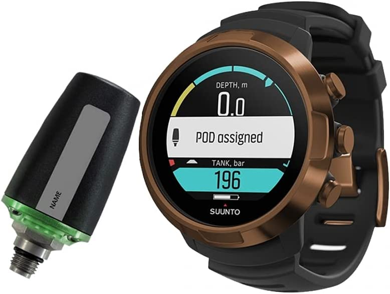 SUUNTO D5 Scuba Diving Wrist Computer Bombing new work Tank Cable USB Pods with All stores are sold