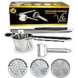 Best  - VITA KCHN Stainless Steel Potato Ricer Kitchen Tool Review