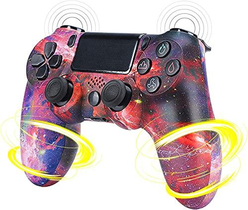 TOOARG Mando Inalámbrico para PS4,mandos Switch,Doble Vibración Mando Game Compatible,Pro Controller para Playstation 4/PS4 Slim/PS4 Pro,C~3