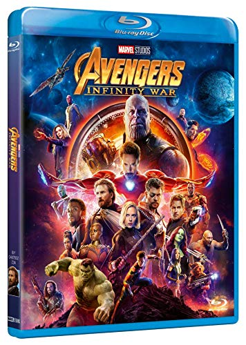 Avengers: Infinity War - Blu-Ray, FantascienzaBlu-Ray, Fantascienza