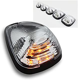 cciyu 5x Classic Amber Cab Roof Marker Running Lamps 194 LED Light Bulbs Replacement fit for Truck 4x4 Fit 1980-1997 Replacement fit ford F250 Jeep ATV Off-Road Pickup Car Folklift Top Lamps etc 4333275942