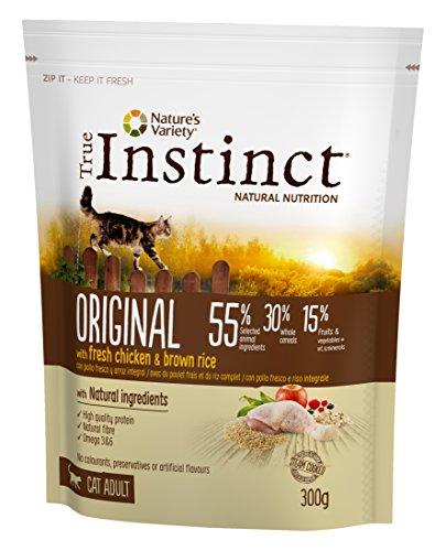 True Instinct Original Poulet Nourriture pour Chat 0,3 kg - Lot de 5