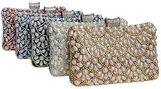 Shoulder Bag Pearl Dinner Bag Women's Banquet Dress Evening Clutch Evening Package Handbag Clutch (Color : Gold)