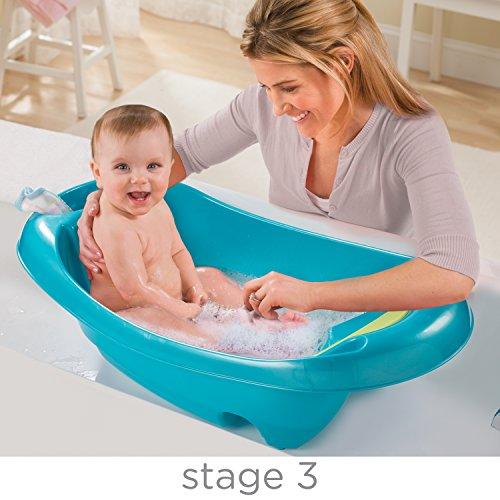 Summer Splish 'n Splash Newborn to Toddler Tub, Blue