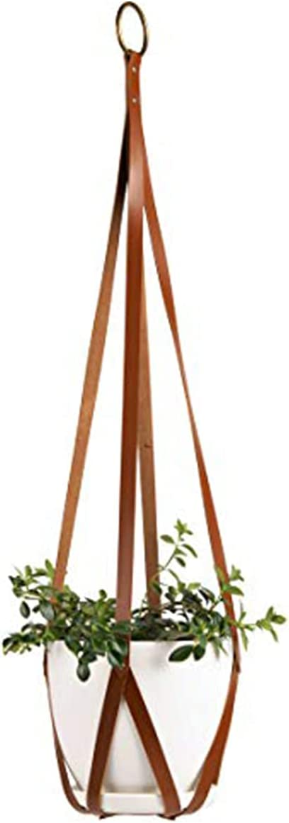 ABETREE Vegan Cheap mail order shopping Leather Selling and selling Hanging Planters Plant for Indoor Hangers