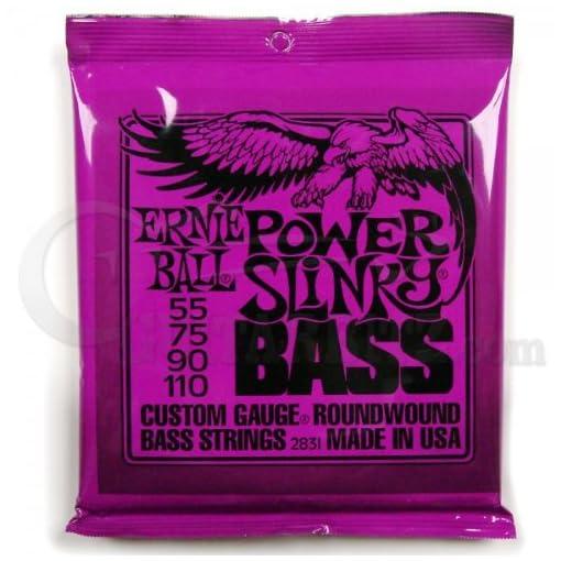 Ernie Ball Power Slinky Nickel Wound Bass Set.055 - .110 1