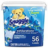 Snuggle Laundry Scent Boosters, Blue Iris Bliss, Tub, 56 Count by Snuggle