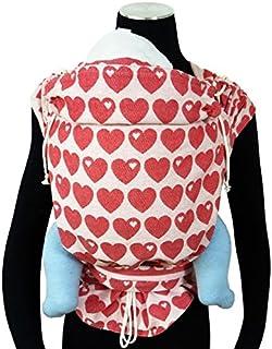 8bae771b8ad DIDYMOS Meh-Dai Mei Tai (DidyTai) Baby Carrier Hearts byGraziela (Organic