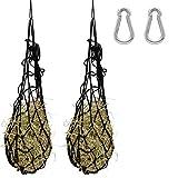 PFIFF 2 reti da fieno con 2 moschettoni, rete per mangime