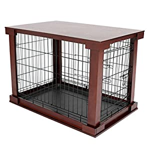 Merry Products Pet Cage with Crate Cover, Medium