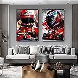 zuomo Niki Lauda F1 Abstraktes Poster und Drucke Moderne