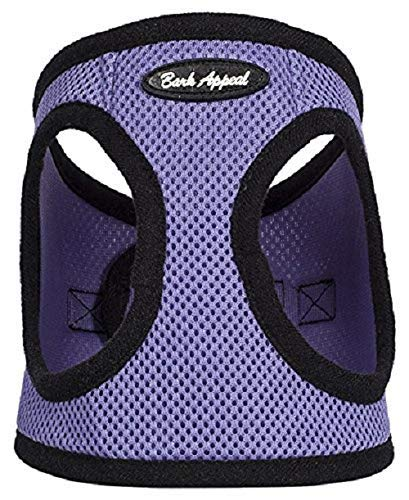 Bark Appeal Mesh Step in Harness, X-Small, Lavender