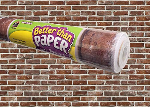 Teacher Created Resources Red Brick Better Than Paper Bulletin Board Roll (TCR77888)