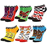 Five Nights at Freddys Horror Video Game Youth 5-Pack Ankle Socks