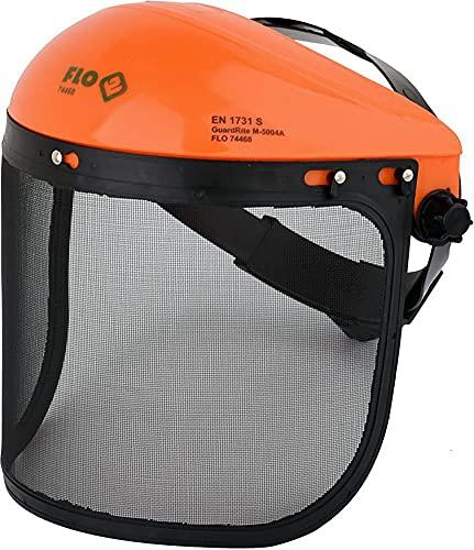 Universal Gesichtsschutz mit Metallschutzgitter Netzvisier Rasentrimmer Trimmer Motorsense Freischneider Maschenvisier