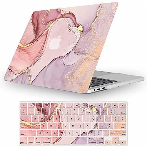 Fancity Funda Dura Compatible con 2020 MacBook Air 13 A2337 M1 A2179 Retina & Touch ID, Carcasa Rígida de Plástico & Cubierta de...