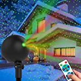 Christmas Lights Projector Laser Light Xmas Spotlight Projectors Waterproof Outdoor Landscape Spotlights for Holiday Halloween Yard Decorations