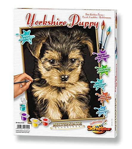 Schipper - 609240720 - Yorkshire Puppy - Tableau à Dessin - Taille 40 x 50 cm