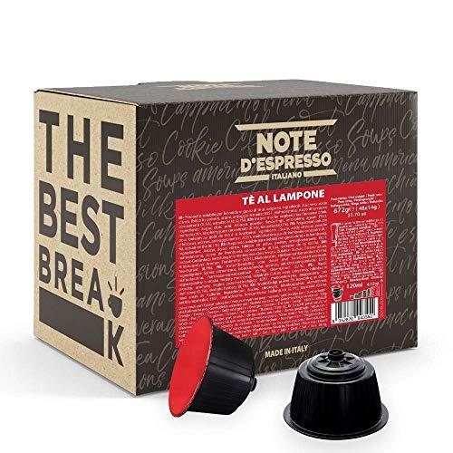 Note dEspresso - Capsulas para las cafeteras Nescafe Dolce Gusto, Red Raspberry Tea, 14 g (caja de 48 unidades)