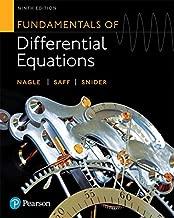 Fundamentals من التفاضلي equations (إصدار 9th)