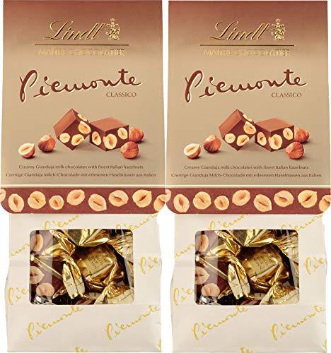 Lindt Piemonte Classico, Cremige Gianduja Milchschokolade mit Haselnüssen, 200 g