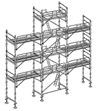 Altrad Echafaudage Façadier 88 m² - Complet