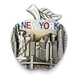 Statue of Liberty, Empire State Building New York Souvenir Fridge NY Magnet - NYC Texi, Statue of Liberty, Empire State Building NYC Magnet (Pack 1)