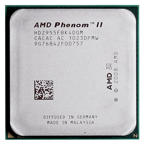 Amazon Com Amd Phenom Ii X4 955 Black Edition 3 2ghz 4x512kb L2 6mb L3 Socket Am3 125w Quad Core Cpu Computers Accessories