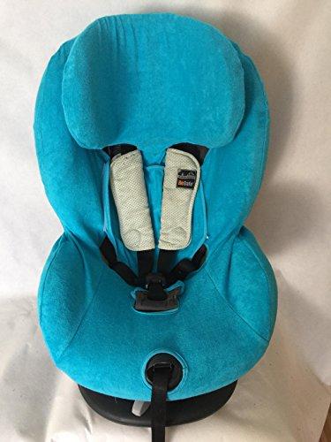 Sommerbezug Schonbezug Frottee für HTS Besafe iZi Comfort X3 Combi X4 Kid X2 Plus Frottee 100% Baumwolle türkis