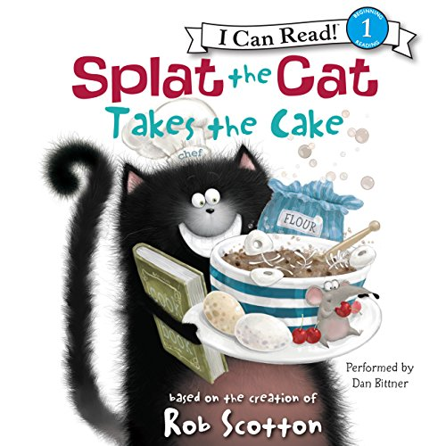 Splat the Cat Takes the Cake cover art