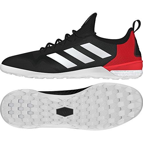 Adidas Ace Tango 17.1 In, Zapatillas de fútbol Sala Hombre, Negro (Negbas/ftwbla/Rojo), 39.5 EU