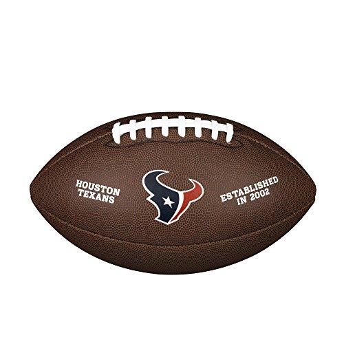 Wilson Houston Texans - Balón de fútbol Oficial: Amazon.es ...