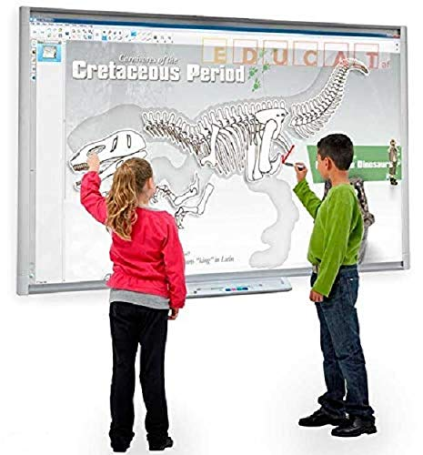 Smart Electronic Whiteboard With Projector Combo