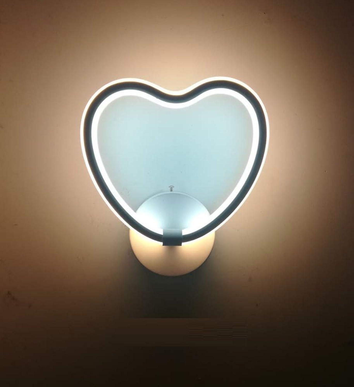 Wandbeleuchtung,Korridorflur-Treppen-Wandlampe Der Kreativen Wohnzimmerschlafzimmernachtwandwandlampe Moderne, Minimalistische, Zweifarbiges Licht