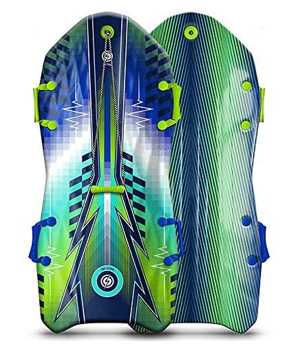 Sno Storm™ Trineo de nieve Vipernex de 127 cm, 2 plazas, color verde