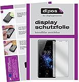 dipos I 6X Schutzfolie klar kompatibel mit Sony Xperia XZ2 Compact Folie Bildschirmschutzfolie