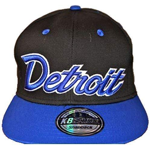 KB Ethos Detroit - Gorras planas con visera plana, diseño hip hop...